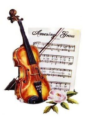 Back Porch Graphics: Music and Roses Image Freebies