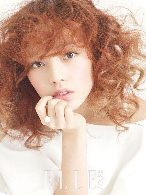 Kara Hara Korean Elle Magazine