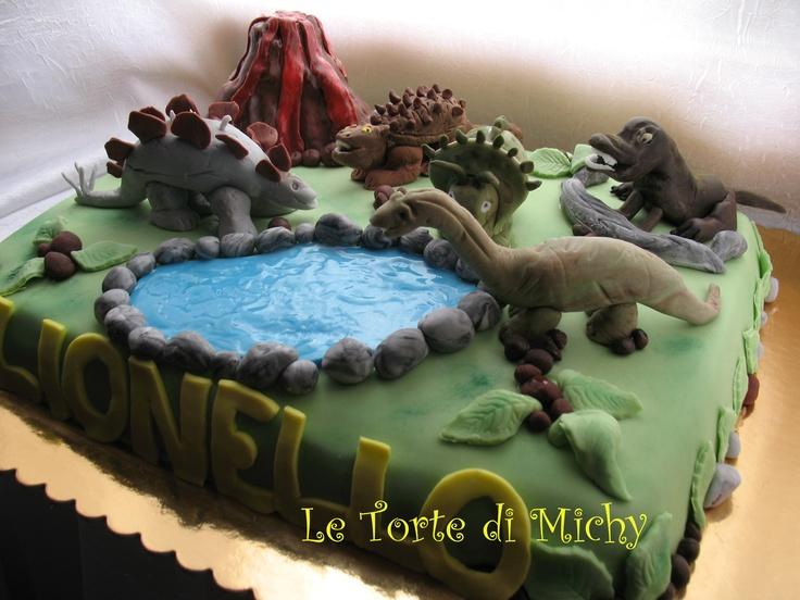 Torta Dinosauri Le Torte Di Michy Quot Cake Design Quot Pinterest