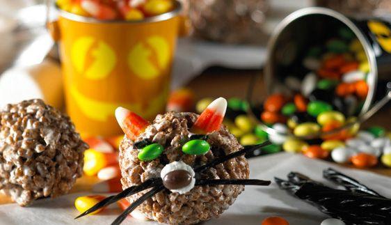 Rice Krispies Cocoa Halloween Cat Treats™