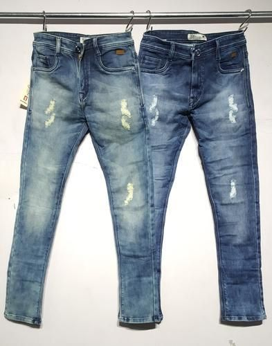 6330353fcbd Denim Party Wear Mens Narrow Fit Jeans