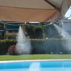 Kit Nebulizzazzione acqua da esterno Kit Summer Fresh per Gazebo e Ombrelloni - VERDEMAX 9640