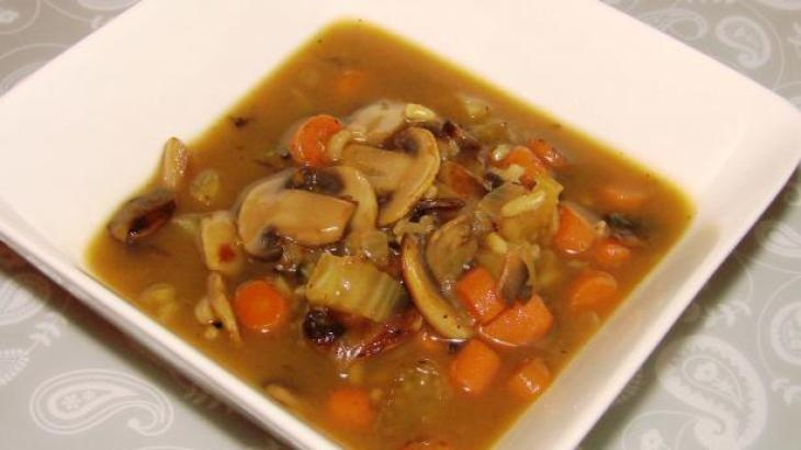 Low Fat Mushroom and Wild Rice Soup | Soups | Pinterest