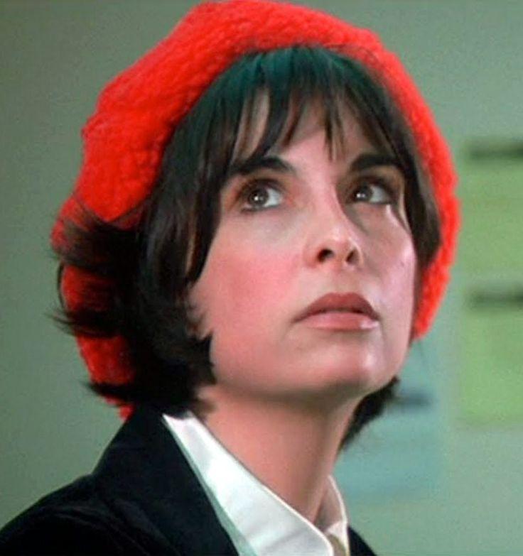 Talia Shire as Adrian Pennino in Rocky, 1976.
