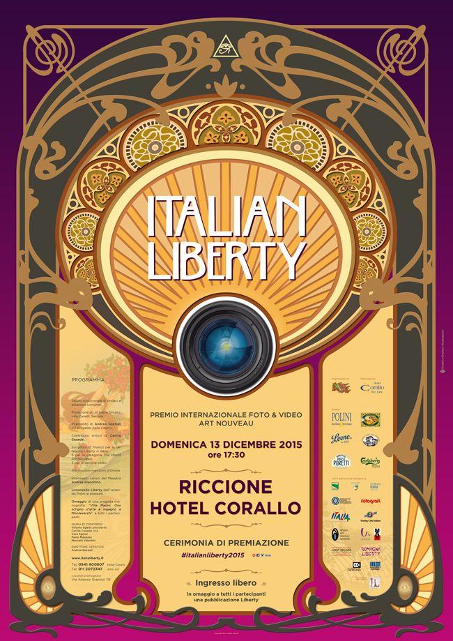 www.italialiberty.it/concorsofotografico | Domenica 13 dicembre a Riccione premiazione del concotso Italian liberty