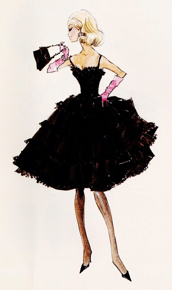 Barbie fashion fairy tale dress sketch designs