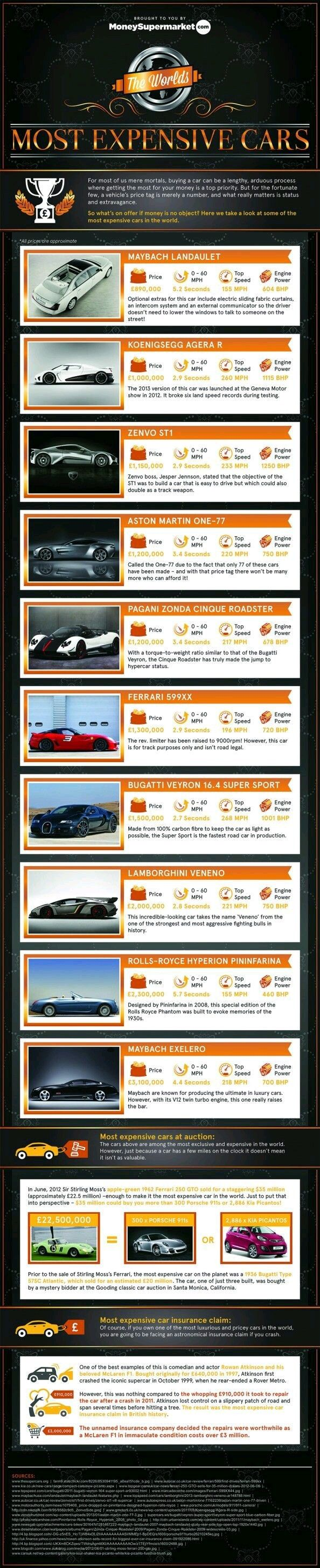 19 best infographics images on pinterest info graphics bugatti ferrari or lamborghini are any of these brands the creator of the most expensive car in the entire world check out this infographic from fandeluxe Images