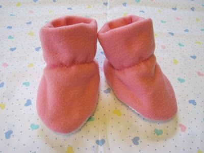 Kaytie wrote asking for full instructions on how to make my baby booties, so this is a complete tutorial for her and anyone else who's inte...