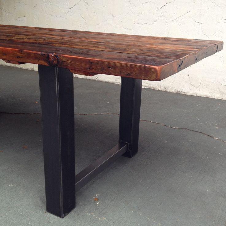 225 Best Steel Wood Images On Pinterest Industrial Furniture Wood And Metal Furniture