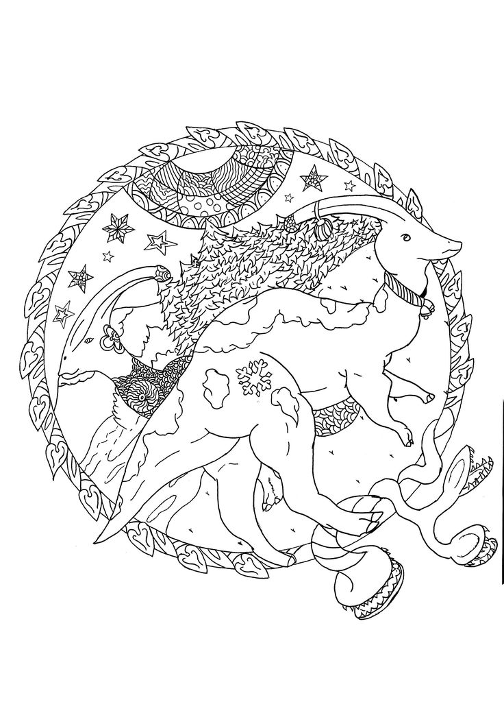 34++ Christmas dinosaur coloring sheet info