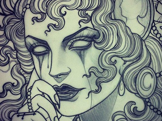 Emily Rose Murray | Tattoo Design | Creative Bloq | http://www.creativebloq.com/illustration/20-brilliant-tattoo-designs-712379