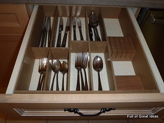 Cutlery Drawer Divider   ~  how-to