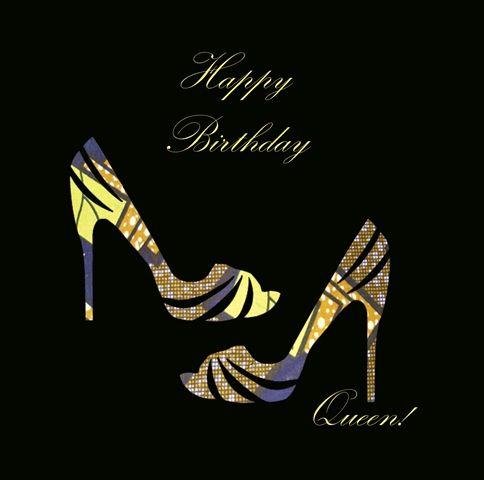 Happy Birthday African American Woman Female Cards
