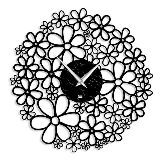 Clocks wall Wall designer watches Wall Clock  by GlamourClocks, $74.50