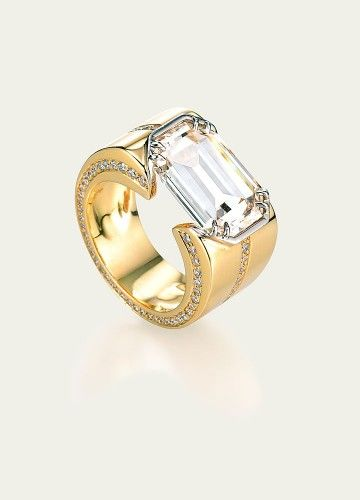 Love a modern #diamond ring