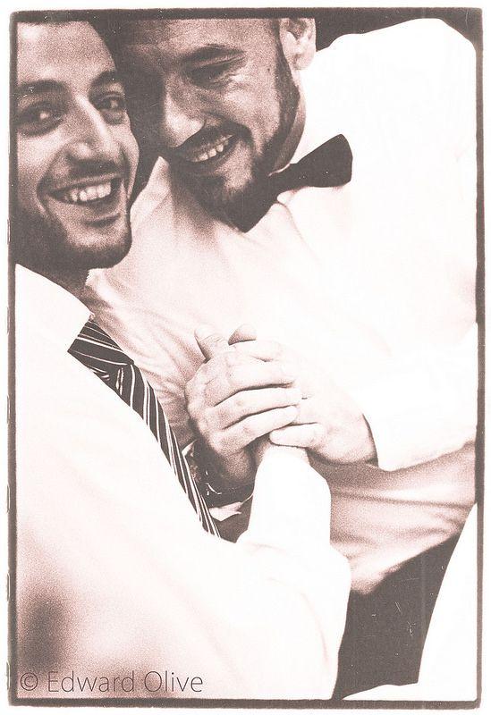 Happy guys © Edward Olive fotos de boda gay wedding photos