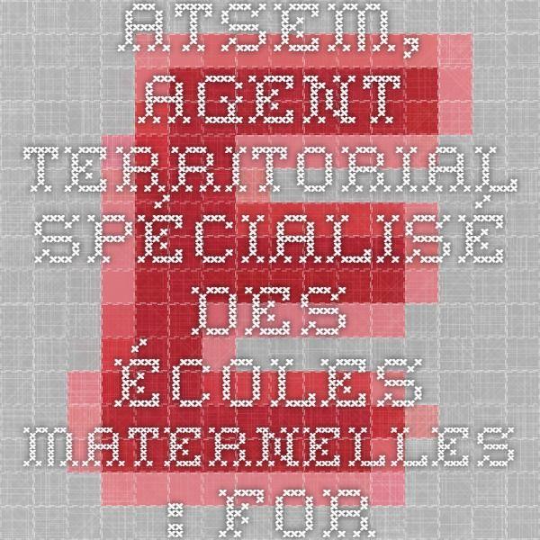 ATSEM, Agent territorial spécialisé des écoles maternelles : formation Educatel