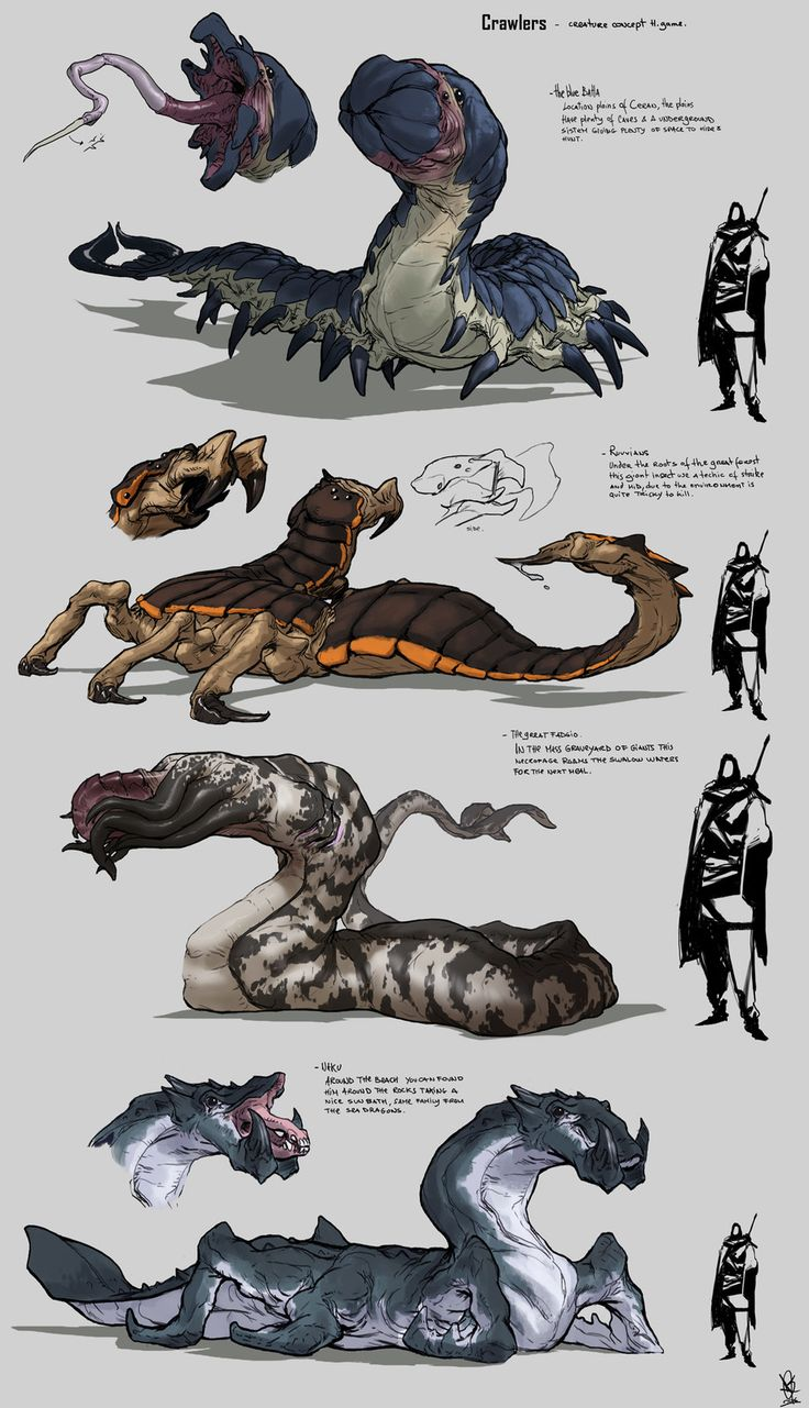 random creatures, David Sequeira on ArtStation at https://www.artstation.com/artwork/random-creatures-1