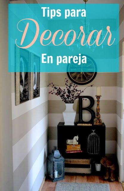5 tips para decorar tu hogar en pareja | Deseo Beauty - http://www.deseobeauty.com/organizate/5-tips-para-decorar-tu-hogar-en-pareja/