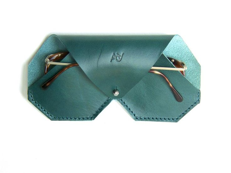 Leather Glasses Case by on CROWDYHOUSE - ✓Unique Design Products ✓30 Day Returns ✓Buyer Protection