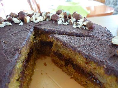 Mrkvový dort s čokoládou – bez lepku, vajec a mléka | majasokolova.cz