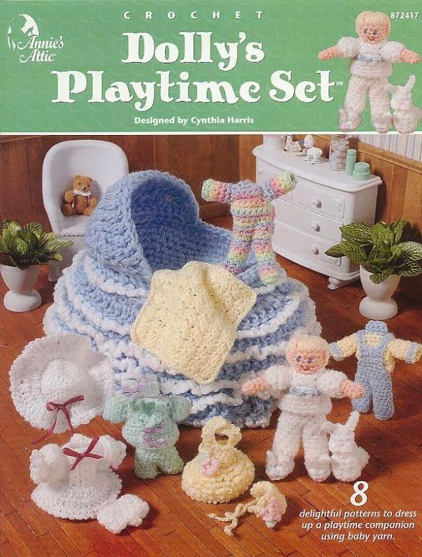 Mejores 10 imágenes de Crochet cradles en Pinterest | Juguetes de ...