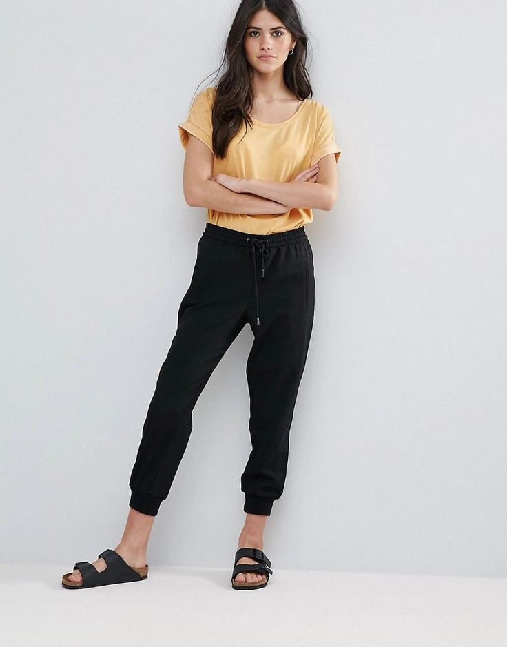 Buy it now. Only Laffi Easy Ribbed Joggers - Black. Shorts by Only, Textured sweat, Drawstring waist, Side pockets, Jet back pocket, Fitted cuffs, Regular fit - true to size, Machine wash, 62% Polyester, 33% Viscose, 5% Elastane, Our model wears a UK S/EU S/US XS and is 169cm/5'6.5 tall. Danish high street brand Only brings forth a casual, feminine collection of classic denim, bold print tees and vests in true Scandinavian style. Expect skinny jeans and jeggings in classic indigo and…