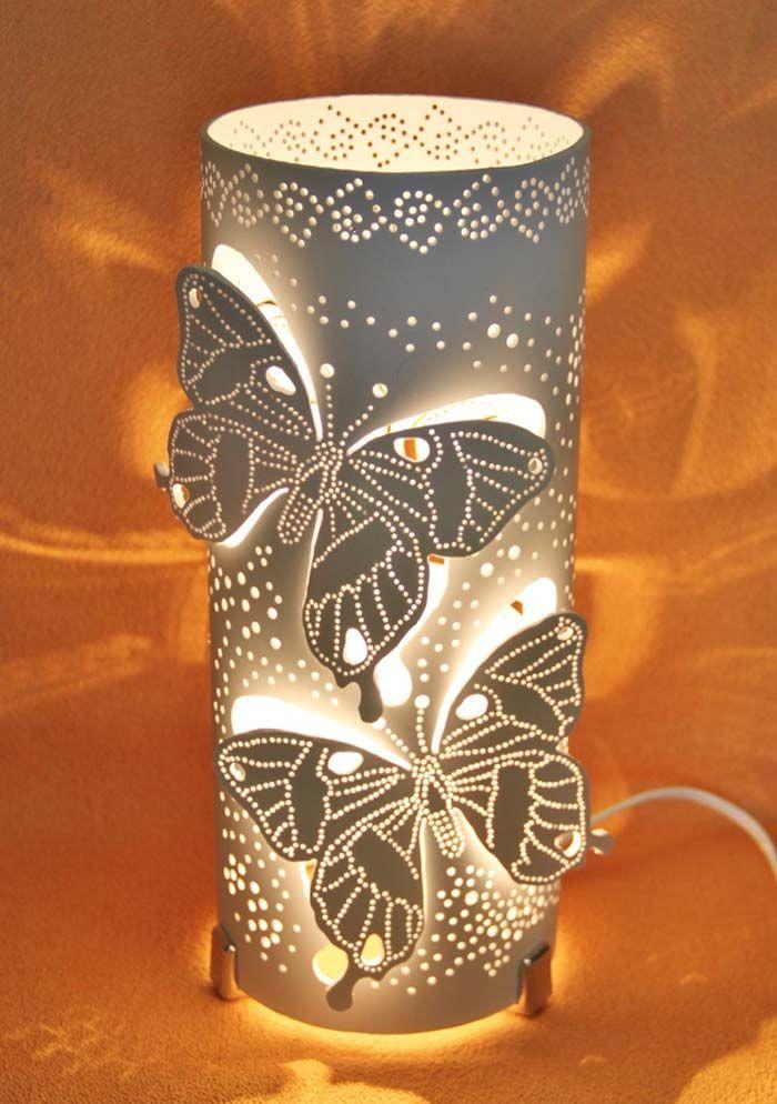 Luminaria De Pvc Com Desenhos Vazados Com Imagens Luminarias