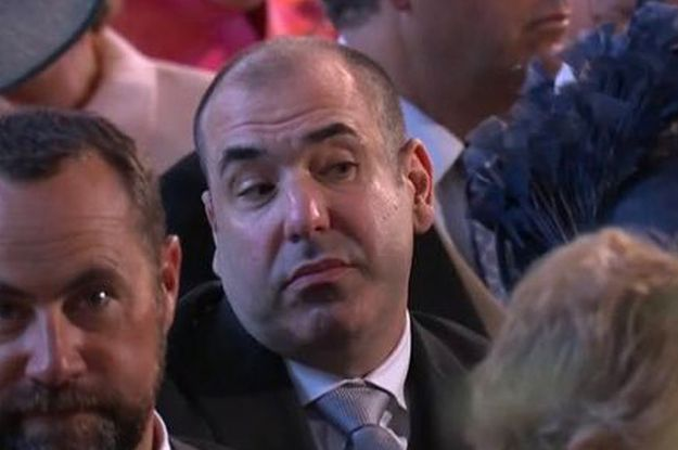 Rick Hoffman Went On Instagram To Explain The Meme Of Him At The Royal Wedding Rick Hoffman Disgusted Face Royal Wedding