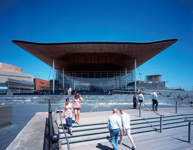 Richard Rogers 2007 Laureate, National Assembly for Wales, Cardiff, Wales, 2005