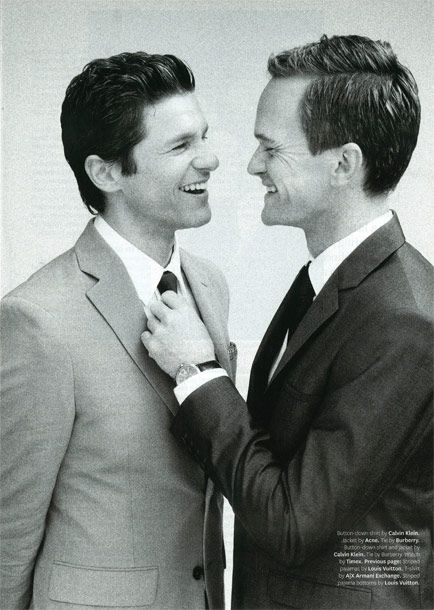 Neil Patrick Harris and David Burtka = Love!