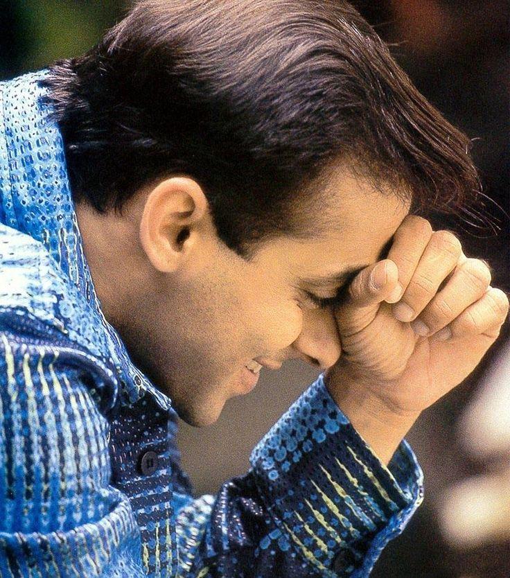 Salman Khan #sweetsmile #thinking #faboulous