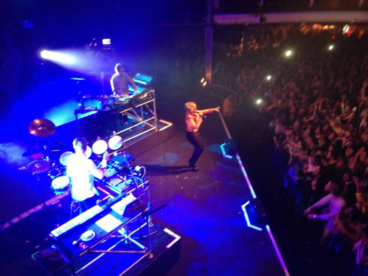 9.Jan. 19, NYC:  Disclosure on stage with Mary J. Blige at Terminal 5