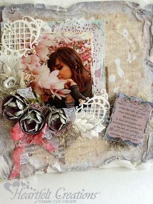 Heartfelt Creations | Delicate PosyLayout