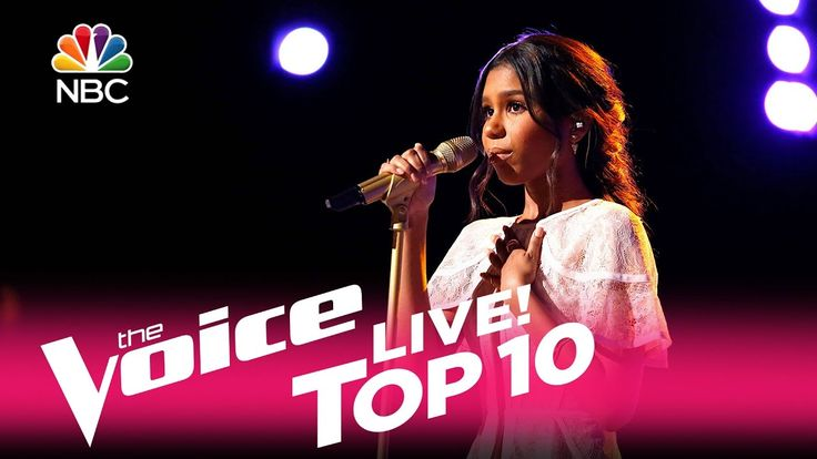 "The Voice 2017 Aliyah Moulden - Top 10: ""Jealous"" so beautiful! The end brought me to tears!!"