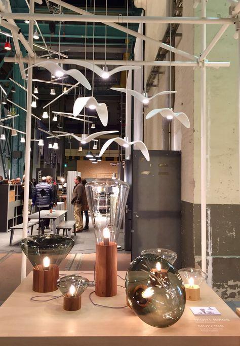 Neue Räume  Brokis - lights - NIGHT BIRDS by Boris Klimek - MUFFINS by Lucie Koldova & Dan Yeffet - interior - design.