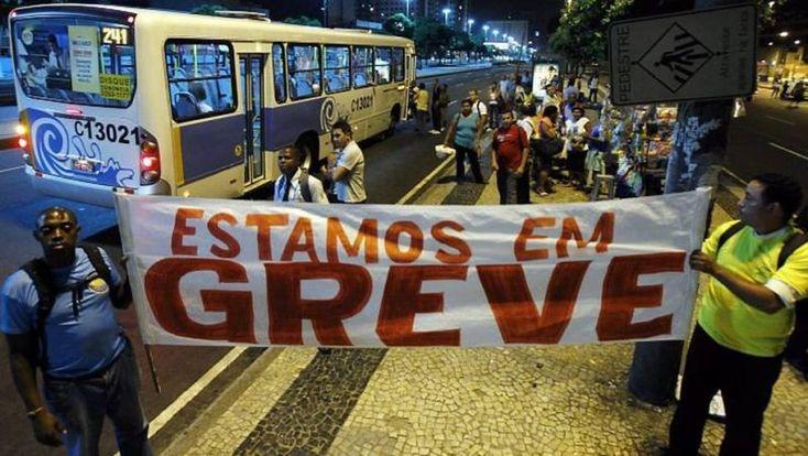 DIA 28 MOTORISTAS E COBRADORES DO RJ VÃO ADERIR A GREVE