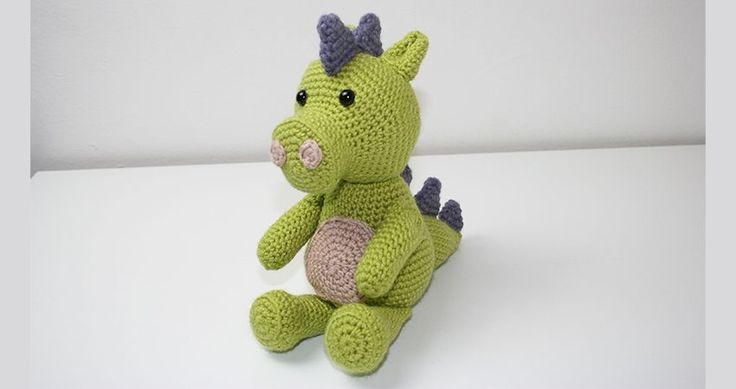 Welcome to my free Crochet Dragon pattern! Find out how to make your own dragon crochet toy. With an easy to follow pattern and simple instructions.