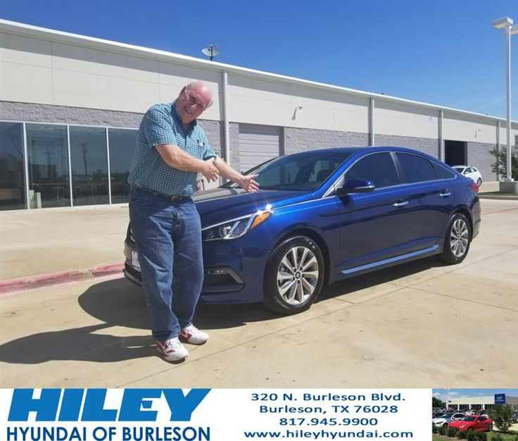 https://flic.kr/p/UvZxVz | Congratulations Larry on your #Hyundai #Sonata from Chad Mohler at Hiley Hyundai of Burleson! | deliverymaxx.com/DealerReviews.aspx?DealerCode=KNWA
