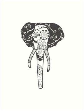 SugerSkull Elefant