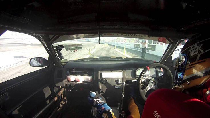 Mats Baribeau Qualifying Lap at Formula Drift Irwindale