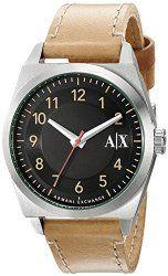 Armani Exchange Men's AX2304 Analog Quartz Beige Watch