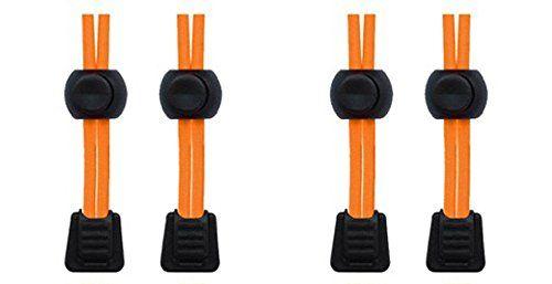 Packung elastische Schnürsenkel mit Schnellverschluss, für Laufen/Triathlon 2 SETS NEON ORANGE - http://on-line-kaufen.de/neo-15/2-sets-neon-orange-packung-elastische-mit-fuer
