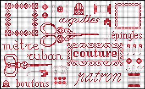 Grille couture - Carton-Marie