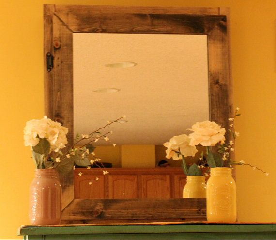le pin noueux à la main rustique médecine armoire armoire ou maquillage de cuboard sur Etsy, $163.70 CAD