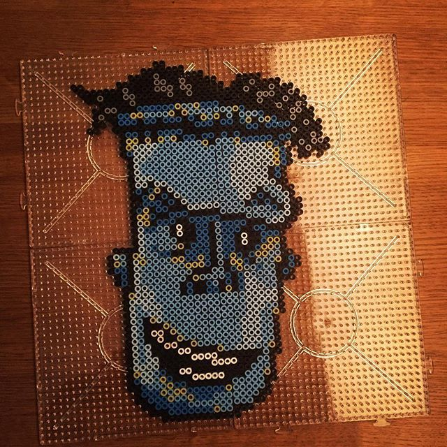 Frankenstein - Hotel Transylvania perler beads by  jawsan