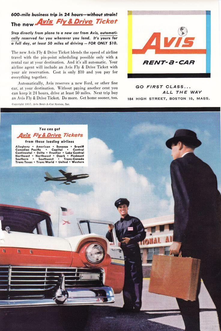 96 best Autos - 1950\'s images on Pinterest | Vintage ads, Car rental ...