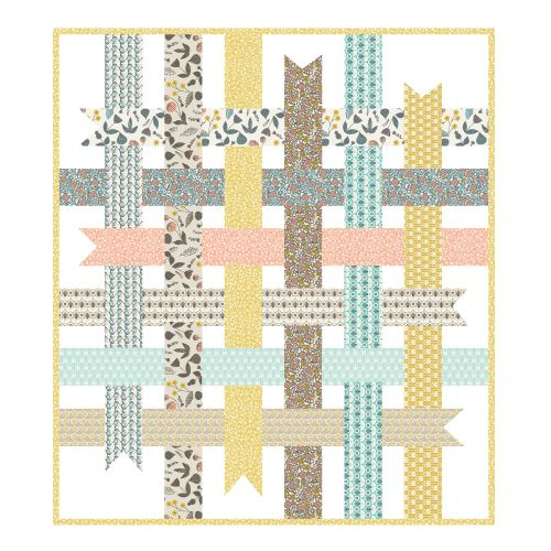 SEW WANT to make this Ribbon Box Quilt (coming soon) by Michelle Engel Bencsko from Make It Sew Projects for Cloud9 Fabrics