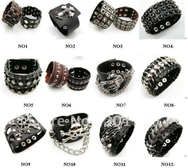 Rocker Fashion For Men | fashion alloy rings Stainless steel Fashion Rings Men's Rings 50 pcs ...