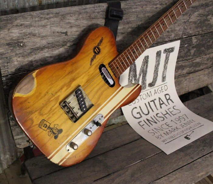 Gallery - Fresh off the Work Bench - MJT Custom Aged Guitars